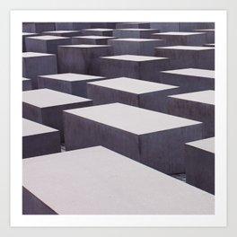 block Art Print