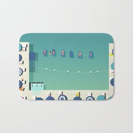 Italy Beach Life - Sorrento Bath Mat