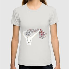 rose shower T-shirt