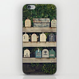 Mailboxes iPhone Skin