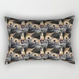 Exotic Birds Rectangular Pillow