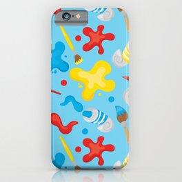 Paint Splatters #2 iPhone Case