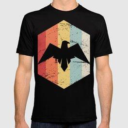 Retro Roman Empire Eagle Icon T-shirt