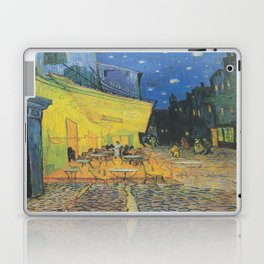 Vincent can Gogh's Cafe Terrace at Night Laptop & iPad Skin