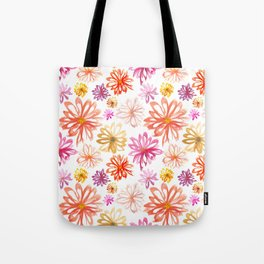 Painted Floral I Tote Bag