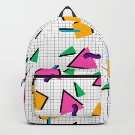 90's Geometric Print Backpack