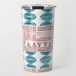 Blush and Blue Travel Mug