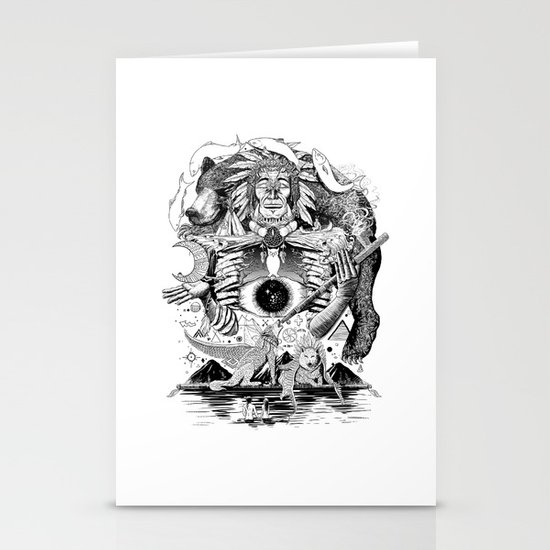 Dream Pipe Stationery Cards