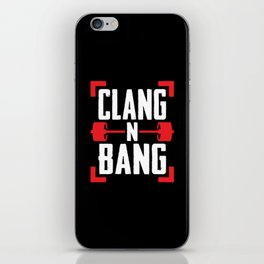 Clang N Bang iPhone Skin