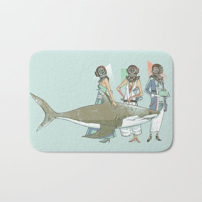 In Oceanic Fashion Bath Mat
