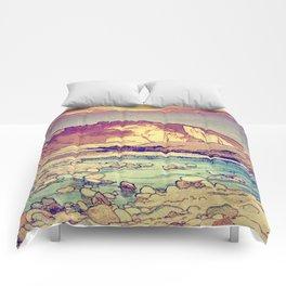 Sunset at Yuke Comforters