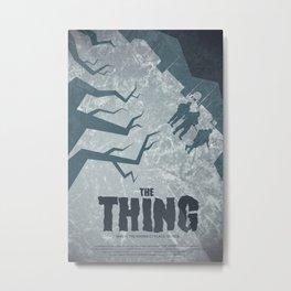 The Thing Metal Print