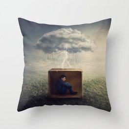 the emotions prisoner Throw Pillow