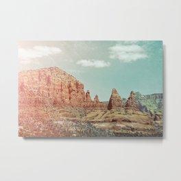 Chicken Point Sedona Arizona Metal Print