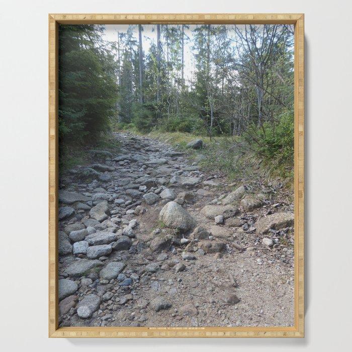 Stony road Serving Tray