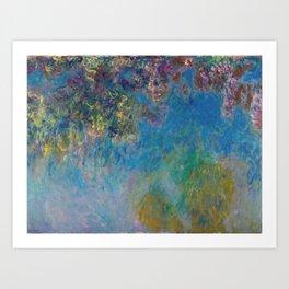 Wisteria by Claude Monet Art Print