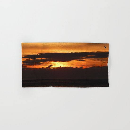 Sunset Shadows Hand & Bath Towel