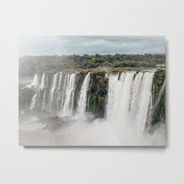 Iguazu Falls National Park | Argentina | Travel Landscape Photography Metal Print