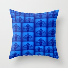 Blue Collar Workers Throw Pillow