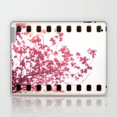 Holga x-processed pink spring tree Laptop & iPad Skin