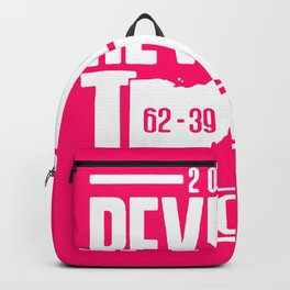 2018 revenge tour cancelled shirt Backpack