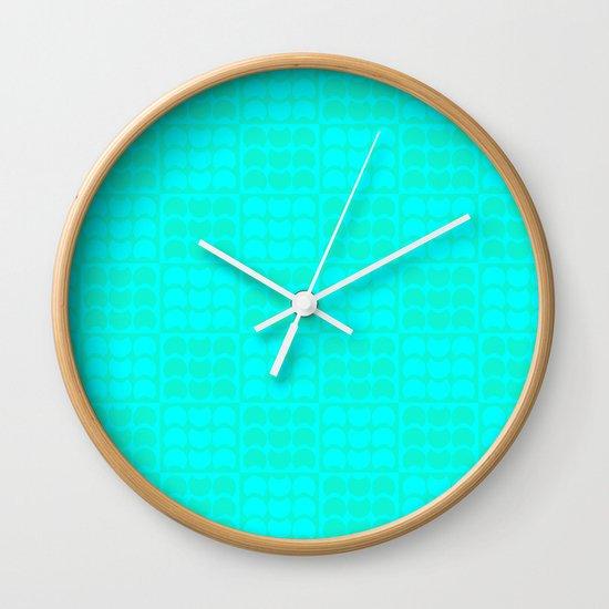 Hob Nob Sea Quarters Wall Clock