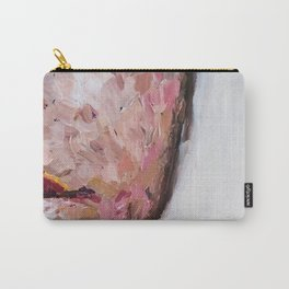 Fragmented Face Carry-All Pouch