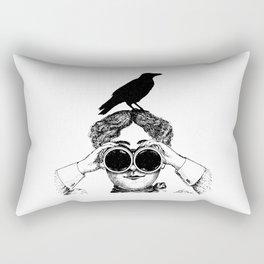 Where's that bird?! - humor Rectangular Pillow