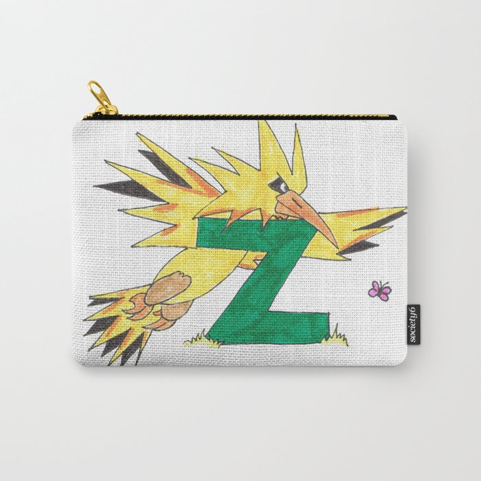 Z is for Zapdos Carry-All Pouch