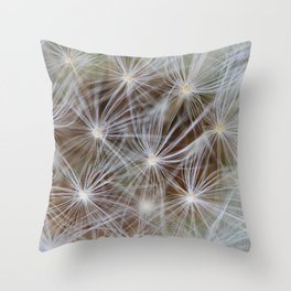 Nature showing off Throw Pillow