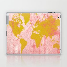 COME WITH ME AROUND THE WORLD Laptop & iPad Skin