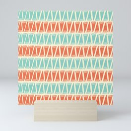 Tee Pee Retro Juice Mini Art Print