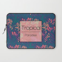 Tropical Paradise: Purple Haze Laptop Sleeve