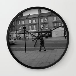 Man Walking Wall Clock