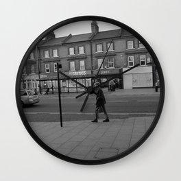 Man Walking Wall Clock