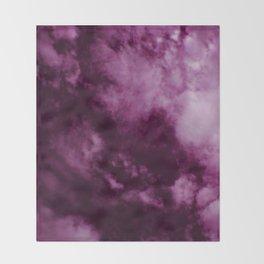Magenta Sky Throw Blanket