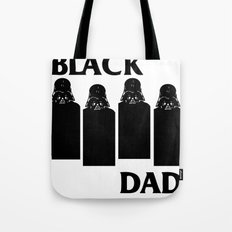 Black Dad Tote Bag