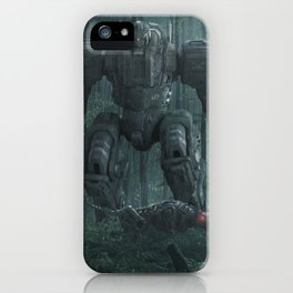 Battle of the machines iPhone Case
