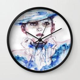 collarless Wall Clock