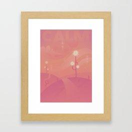 Relax - CALM Framed Art Print