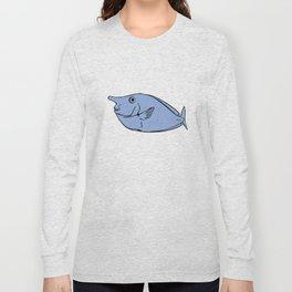 Unicorn fish illustration Long Sleeve T-shirt