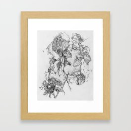Say Hello To Scarecrow Framed Art Print