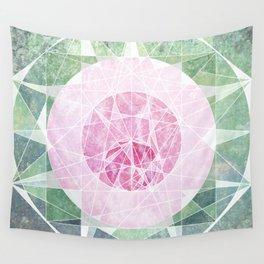 Watermelon Geometery Wall Tapestry