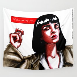 pulp fiction 1994 Wall Tapestry