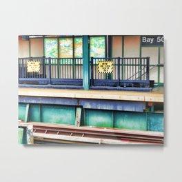 Bay 50 Street Metal Print