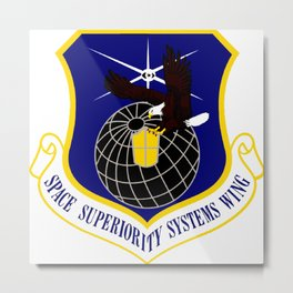 Superiority Systems Wing (SYSW) Crest Metal Print