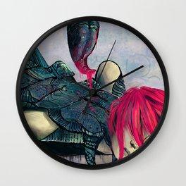 Zodiac Sign: Scorpio Wall Clock