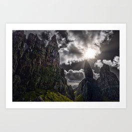 Old Man Of Storr - Isle Of Skye - Scotland Art Print