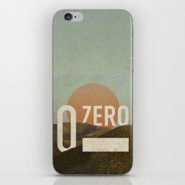Zero iPhone Skin