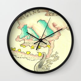 Aging Gracefully Wall Clock
